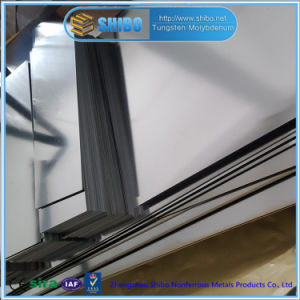 Experienced Factory Cold Rolled Molybdenum Sheet with Bright Surface pictures & photos