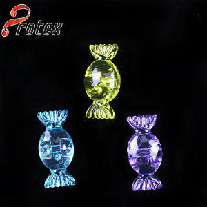 Clear Candy Shape Decorative Acrylic Ornament pictures & photos