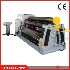 Hydraulic Metal Plate Bending Roll Machine 4 Roller Bending Machine pictures & photos
