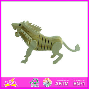 2014 New Animal Toy Play Baby Paint Kit, Popular DIY Toy Baby Paint Kit, Hot Sale Lion Style Baby Paint Kit W03A042 pictures & photos
