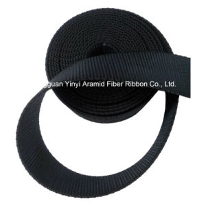 1-1/2′′ Black High Strong Nylon Webbing for Safety Belt pictures & photos