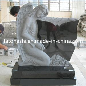 Cheap Sale Marble Stone Headstone Cross Memorials Monuments with Angel pictures & photos