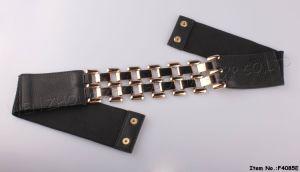 2017 PU+Elastic Women Belts (F4085E) pictures & photos