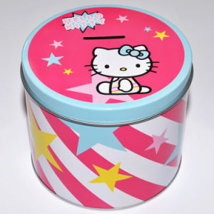 Hello Kitty Money Saving Candy Tin Box Piggy Bank pictures & photos