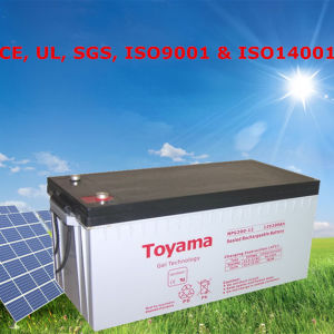 Solar Gel Battery 12V 200ah Deep Cycle Gel Battery 200ah pictures & photos