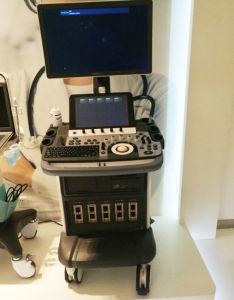 Hospital Medical Trolley 4D Color Doppler Sonoscape Ultrasound S50 pictures & photos
