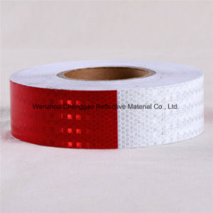 Self Adhesive Film Reflective Sticker Reflective Safety Caution Tape (C3500-O) pictures & photos