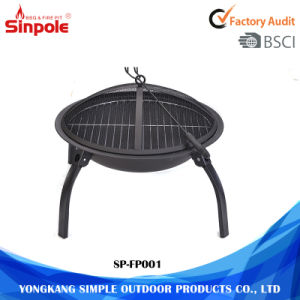 Outdoor Steel Round Charcoal Fire Pit pictures & photos