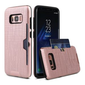 Card Solt Combo Case for Samsung S8 Egde pictures & photos