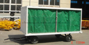 Airport Baggage Cart Cargo Trailer pictures & photos