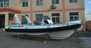 Liya 7.5m Luxury China Rib Boats Inflatable Boat for Sale pictures & photos