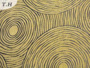 Gemotrical Design Chenille Decoration Fabric pictures & photos