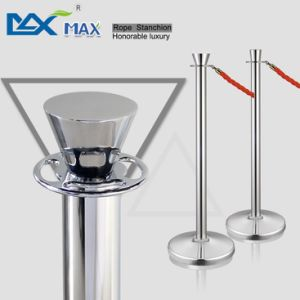 Crowd Control Blue Velet Rope Bank System Queue Line Railing Stanchions Pole Stand Barriers pictures & photos