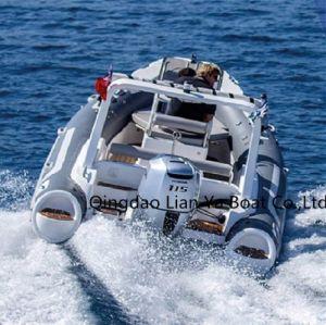 Liya 5.8meter Panga Boat with Fiberglass Hull FRP Boat Builder pictures & photos