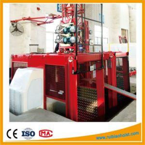 Sc200/200 2ton Double Cage Gjj Passenger Hoist Construction Hoist pictures & photos