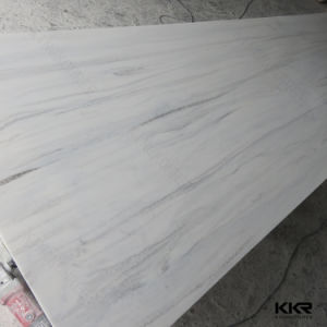 Corian Glacier White 12mm 100% Pure Acrylic Solid Surface Sheets pictures & photos