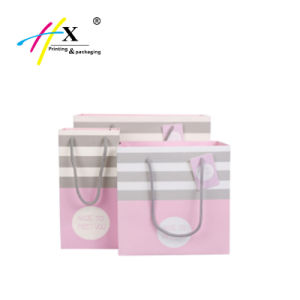 Custom Printed Luxury Shopping Big Strong Paper Printed Gift Bags pictures & photos