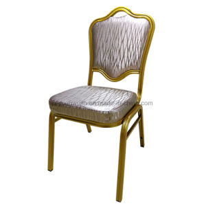 Hotel Restaurant Furniture Stackable Steel Banquet Chair (JY-B33) pictures & photos