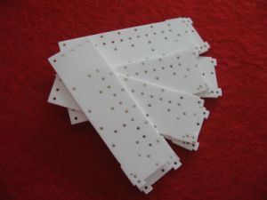 96% Laser Drilled Alumina Ceramic Substrate pictures & photos