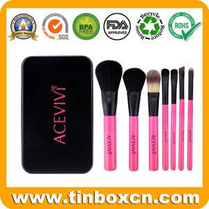 Factory 2017 Hot Sale Rectangular Make-up Tin Box for Cosmetics pictures & photos