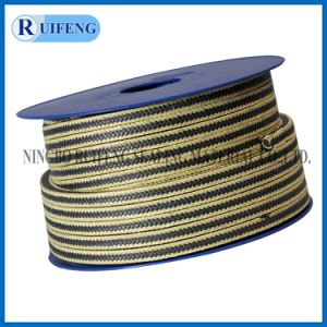 Yp011 PTFE with Aramid Fiber in Corners Reinforced Braided Packing pictures & photos