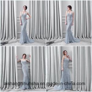 Luxury Burgundy Mermaid Evening Dresses pictures & photos