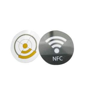 NFC Nt213 NFC Tag 4 13.56MHz Customized Logo Printing Passive RFID NFC Tag/Label/Sticker pictures & photos