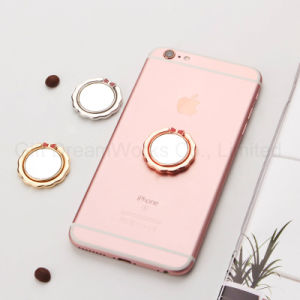 Cute and Pink Ring Holder for Cell Phone with Mirror Function pictures & photos