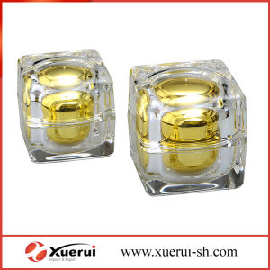 15g, 30g, 50g Round Square Acrylic Cosmetic Cream Jar pictures & photos