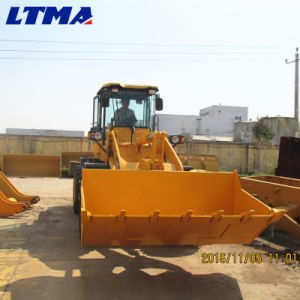 Articulated Payloader Small 2.5 Ton Wheel Loader for Sale pictures & photos
