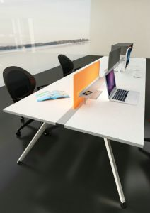 Office Furniture Chipboard Office Workstation for 6 Person Office Workstation Legs
