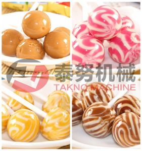 Stick Lollipop Candy Production Depositing Line pictures & photos