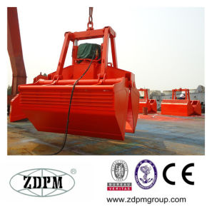 Electro Hydraulic Rope Clamshell Grab Bucket