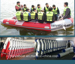 Liya 2-6.5m Foldable Military Inflatable Rubber Boat Manufacturers pictures & photos