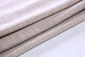 Pale Pink Sofa Fabric Price Per Meter Linen Material pictures & photos