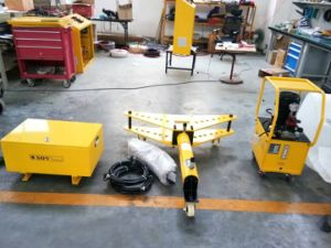Hydraulic Tube Bending Machine with Electric Hydraulic Pump pictures & photos