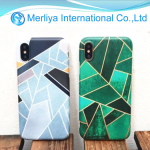 Geometric Figure Irregularity Design Soft TPU Phone Case for iPhone X pictures & photos