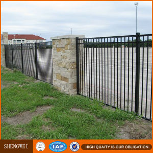 Hot Galvanised Wrought Iron Fence for Homes pictures & photos