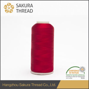50d/2 Oeko-Tex100 1 Class Polyester Embroidery Thread for Knitting pictures & photos