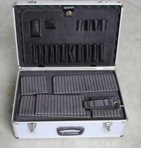 Aluminum Tool Case with Tool Panel and Block Foam for Different Using pictures & photos