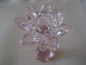 Crystal Candle Holder (CX-CH0003)