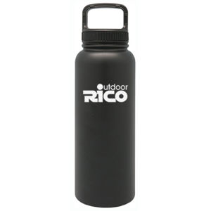 Durable Stainless Steel Vacuum Sports Bottle Black 40oz pictures & photos
