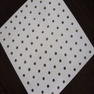 China Perforated Mineral Fiber Ceiling Panel 9mm 12mm