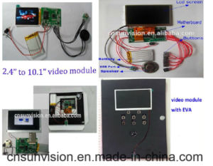 "5V Power 1.8"" to 10.1"" LCD Video Brochure Music Module pictures & photos"