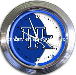 Kentucky Neon Clock