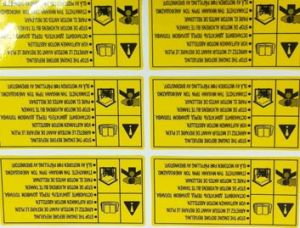 Die Cut Engine Sticker Decal pictures & photos