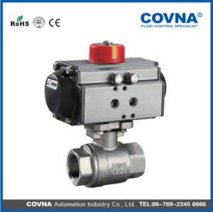 High Pressure Valve with Pneumatic Actuator pictures & photos