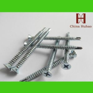 Screw/ Self-Drilling Screw with Csk Head (4.2x25mm) pictures & photos