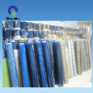 China Blue Flexible Transparent PVC Rolls for Package and Printing