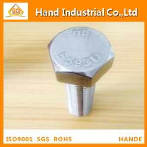 Stainless Steel ASME A193 B8 B8m M18X80 Hex Head Bolt pictures & photos